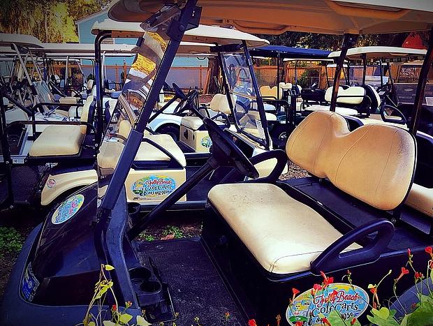 Folly Beach Golf Carts